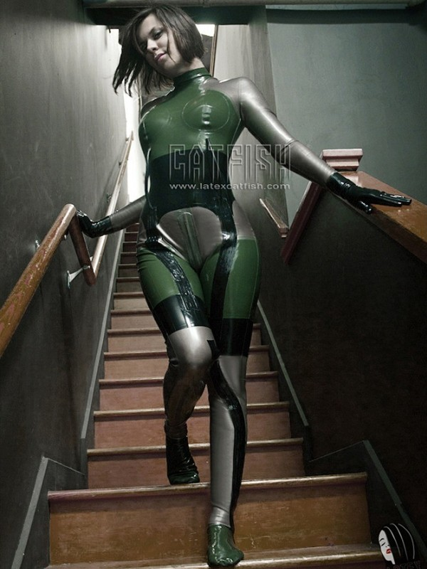 Latexový Catsuit CF-CANV419