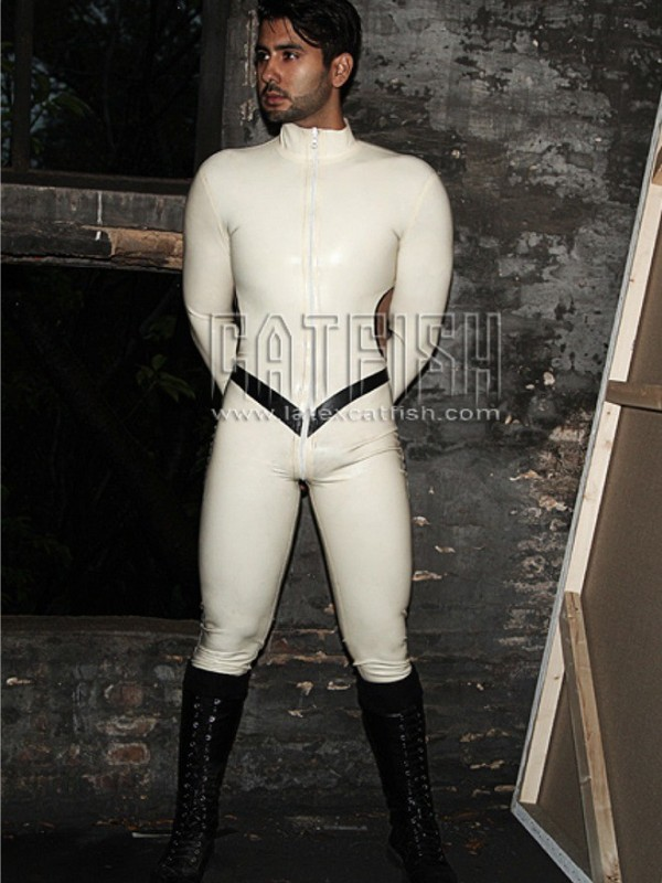 Latexový Catsuit CF-CANV445