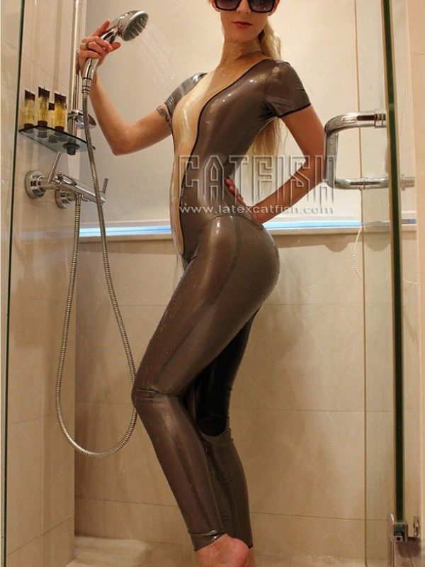 Latexový Catsuit CF-CANV339