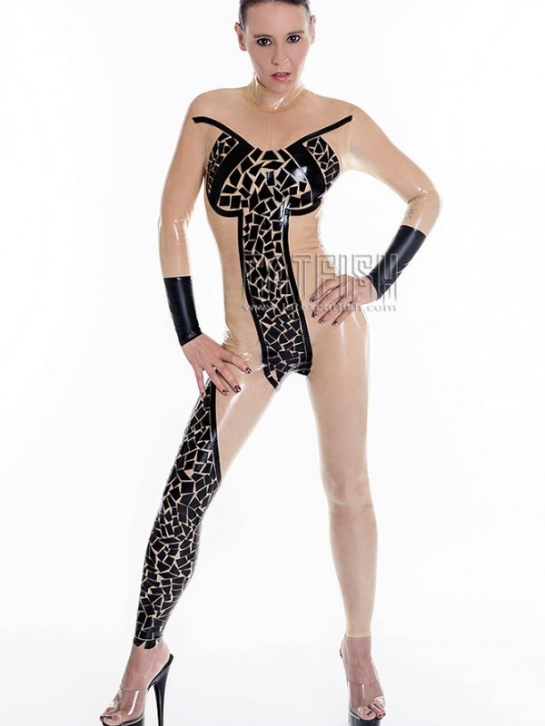 Latexový Catsuit CF-CANV15503