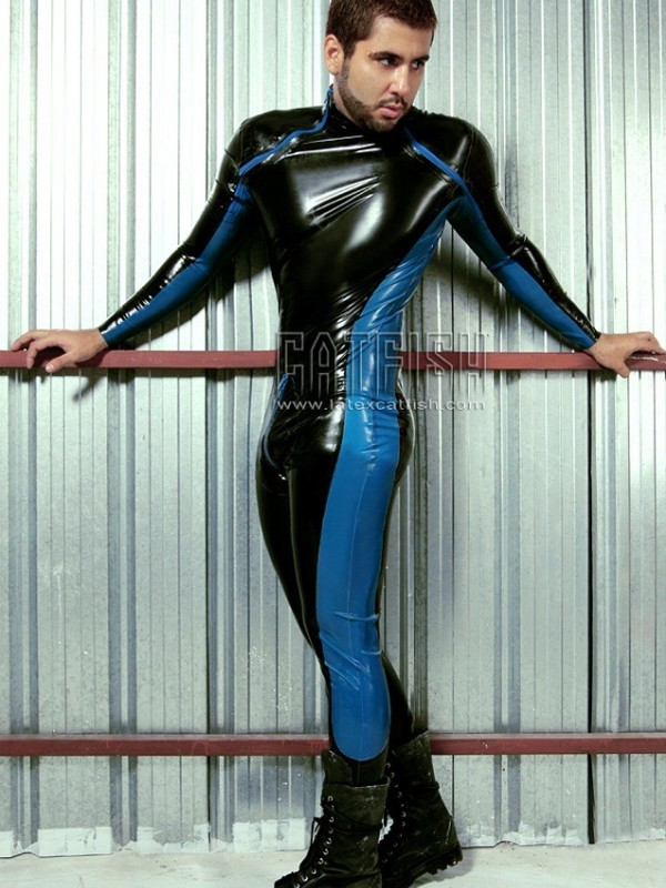 Latexový Catsuit CF-CANV418