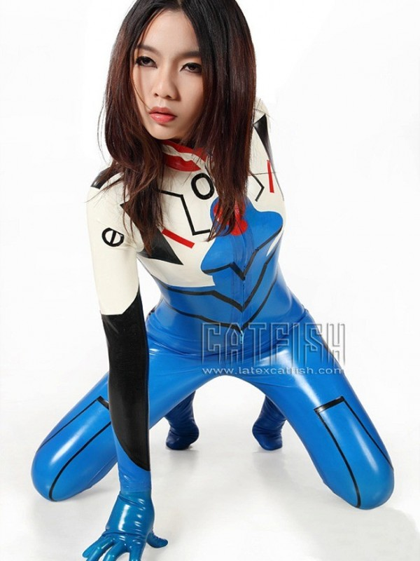 Latexový Catsuit CF-CANV136