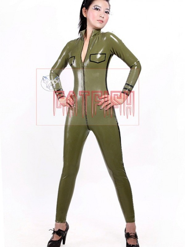 Latexový Catsuit CF-UNNV060
