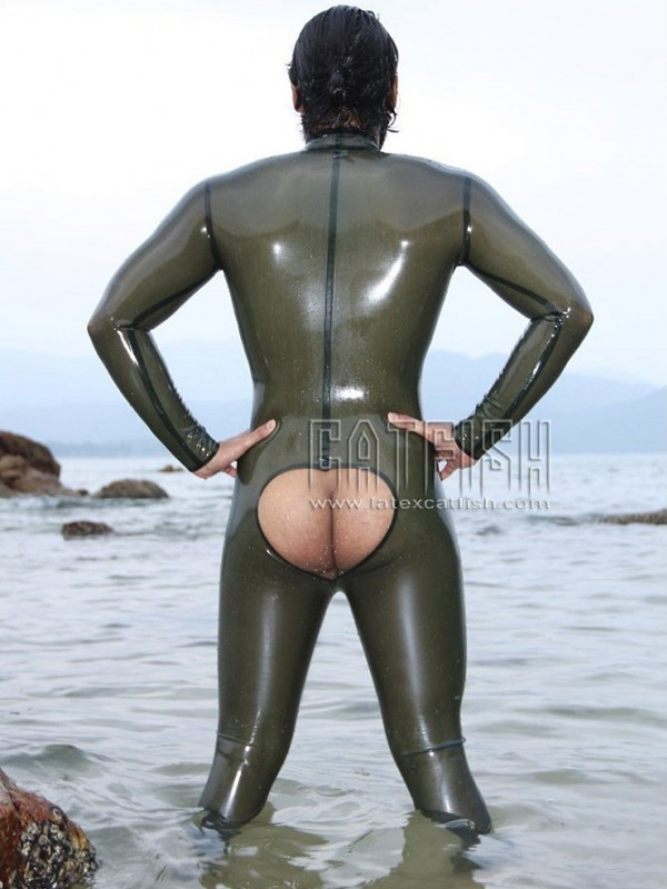 Latexový Catsuit CF-CANV140B