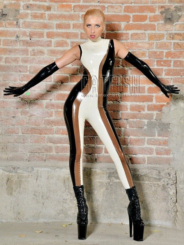 Latex Catsuit CF-CANV16048