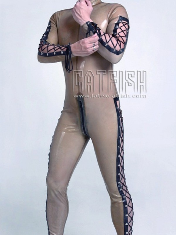 Latexový Catsuit CF-CANV403