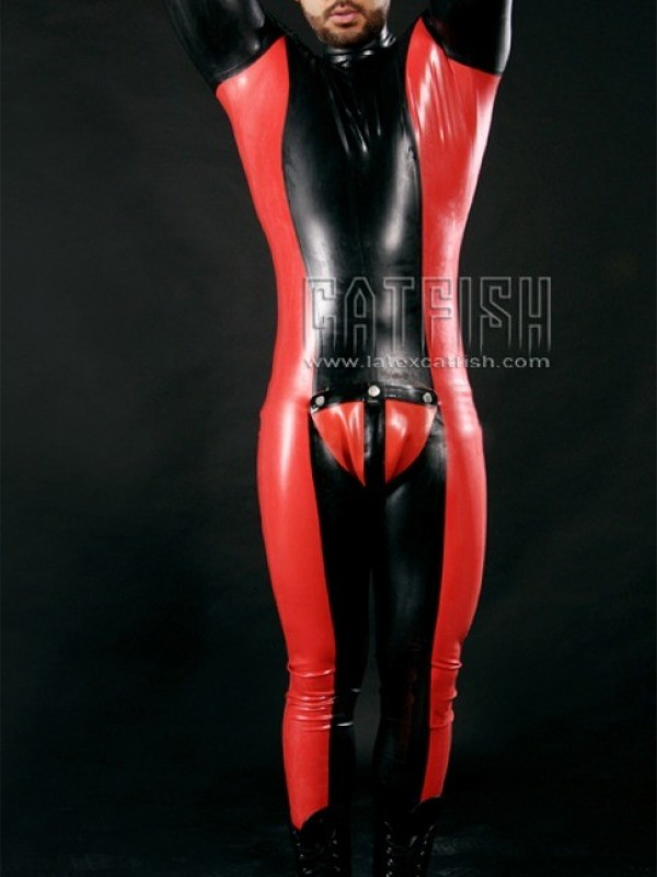Latexový Catsuit CF-CANV338