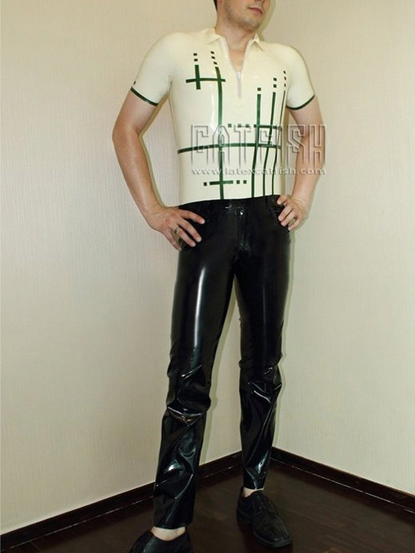 Latex Catsuit CF-CANV335
