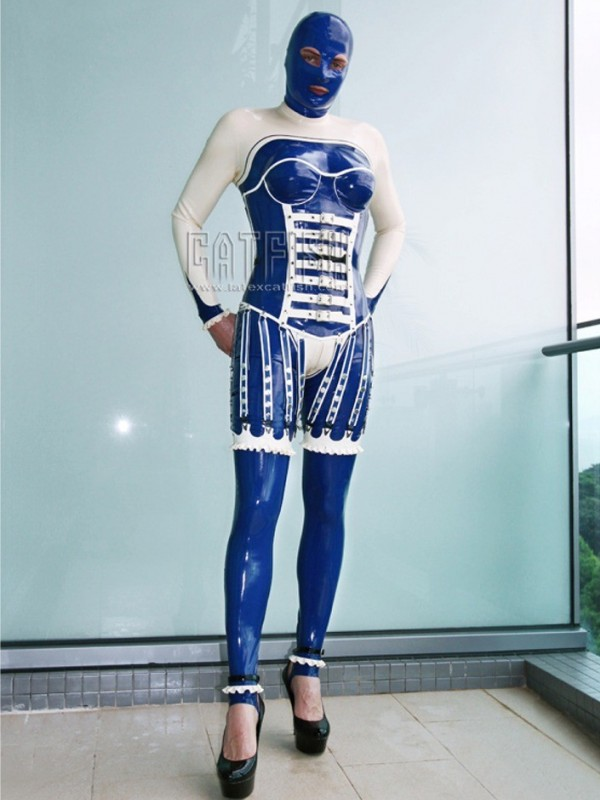 Latex Catsuit CF-CANV614