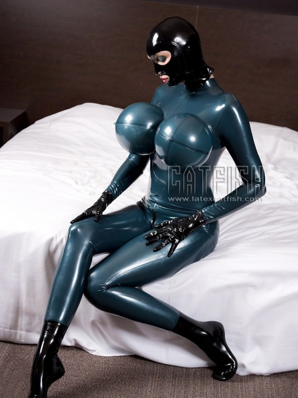 Latexový Catsuit CF-INNV054