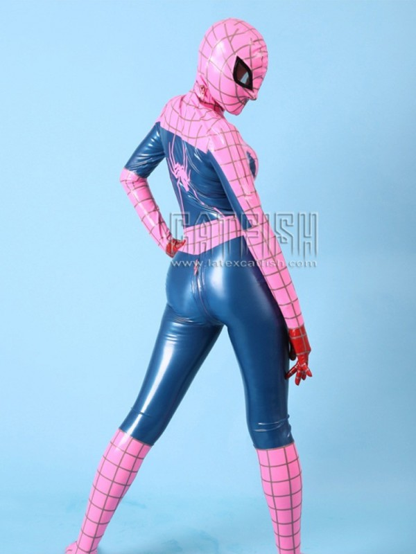 Latex Catsuit CF-CANV17823
