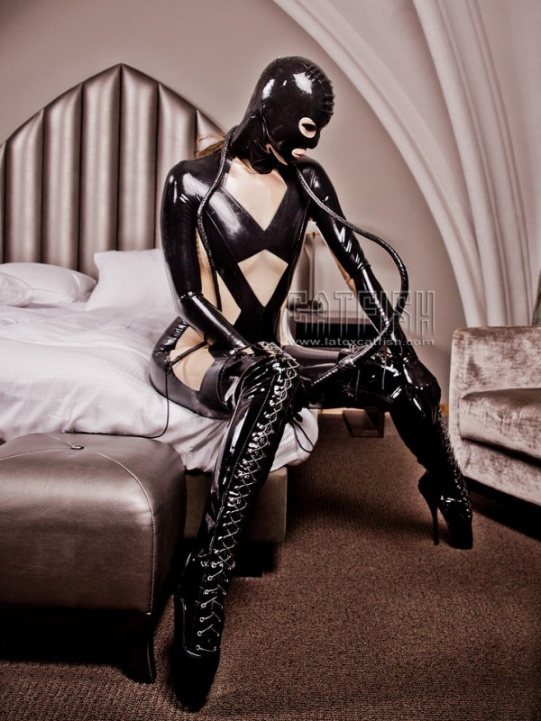 Latex Catsuit CF-CANV656