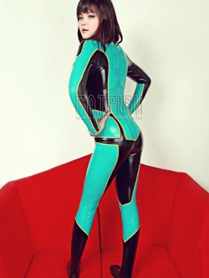Latex Catsuit CF-CANV185