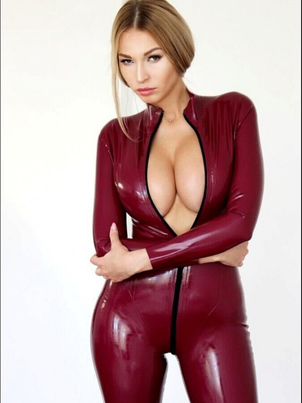 Latexový Catsuit CF-PD001F