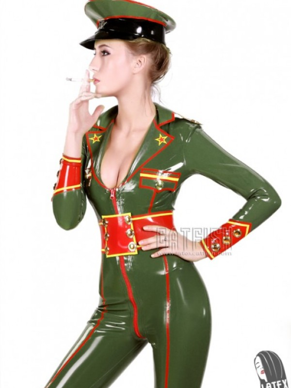 Latexový Catsuit CF-UNF001
