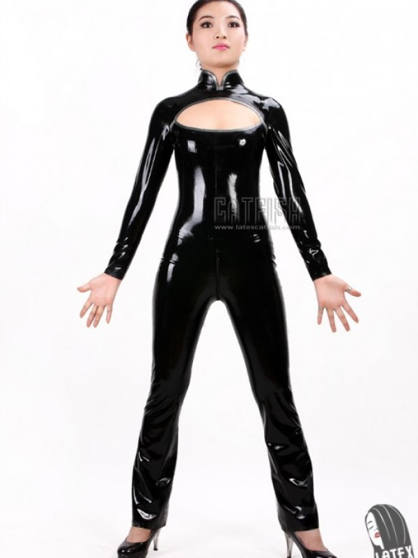 Latexový Catsuit CF-CTS010
