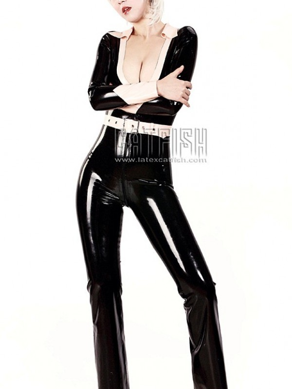 Latexový Catsuit CF-CANV694