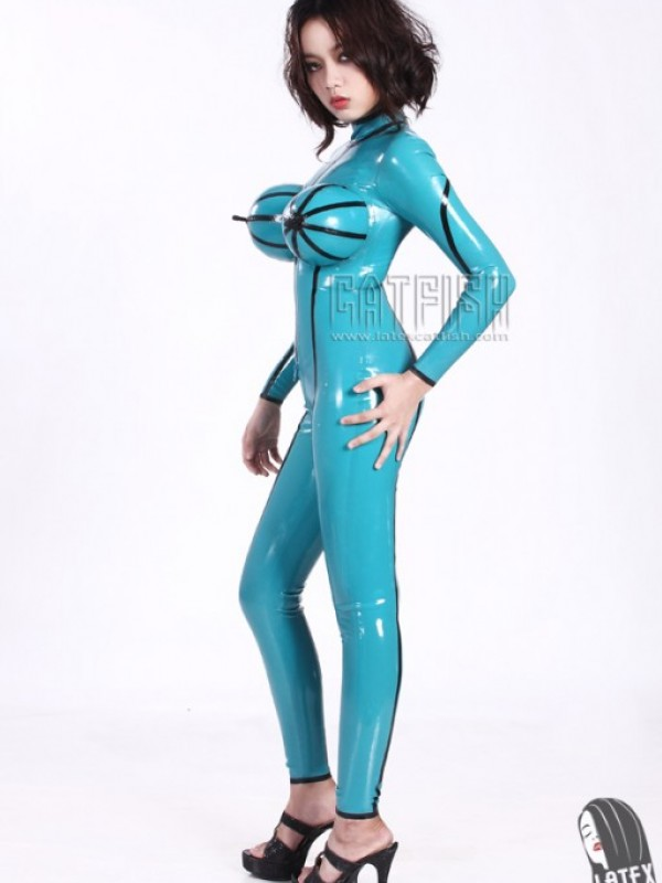 Latexový Catsuit CF-CANV986