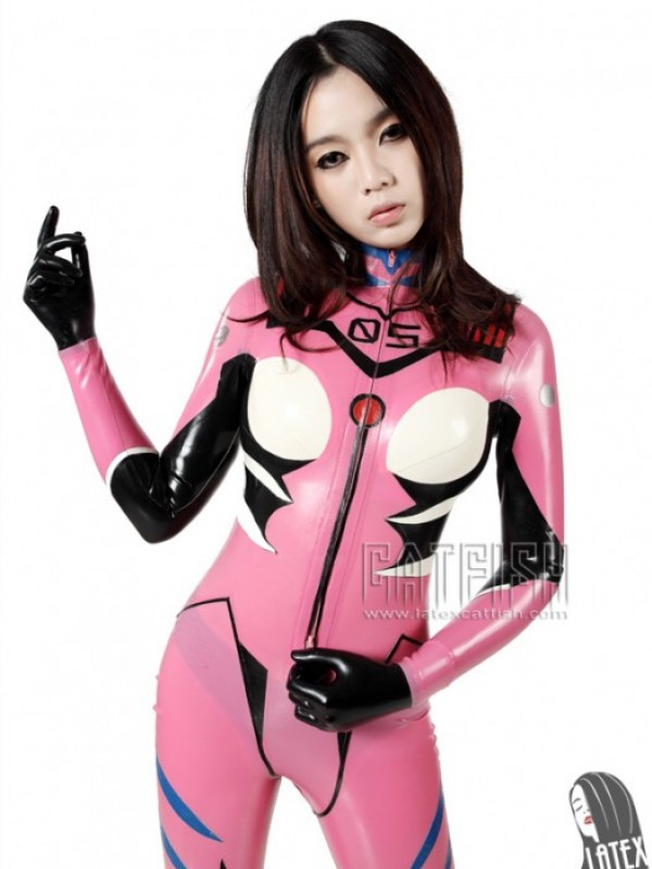 Latexový Catsuit CF-CANV135