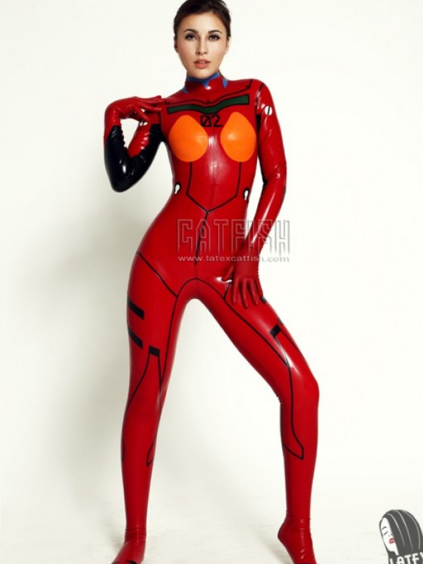 Latexový Catsuit CF-CANV132