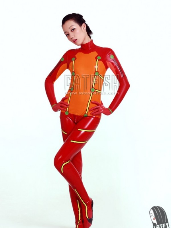 Latexový Catsuit CF-CANV364