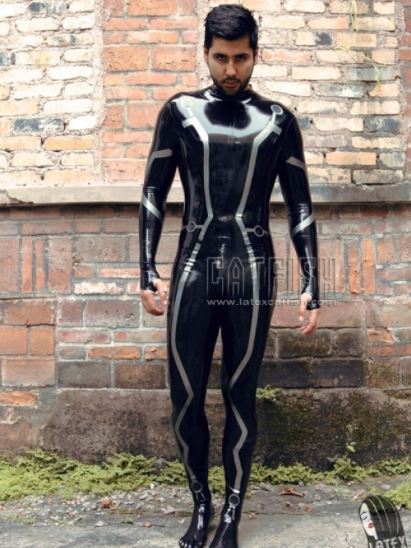 Latexový Catsuit CF-CANV139B