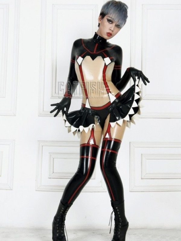 Latexový Catsuit CF-CANV14230