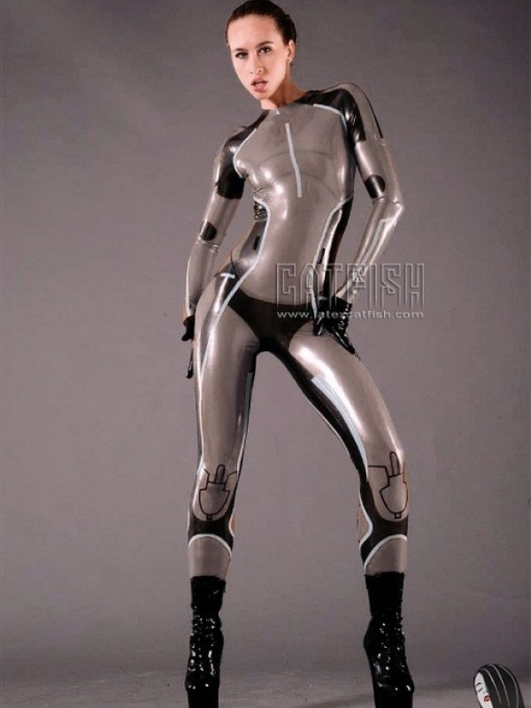 Latexový Catsuit CF-CANV14235