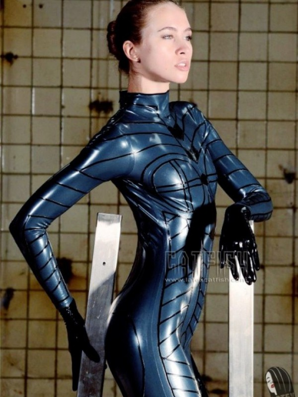 Latexový Catsuit CF-CANV14233