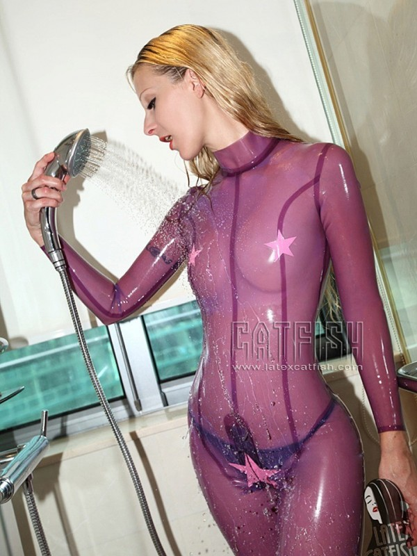 Latexový Catsuit CF-CANV313