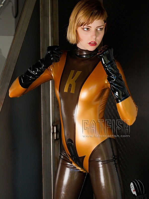 Latexový Catsuit CF-CANV14101