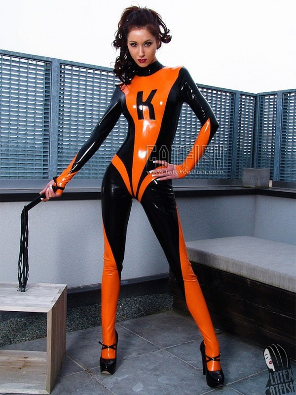 Latexový Catsuit CF-CANV459