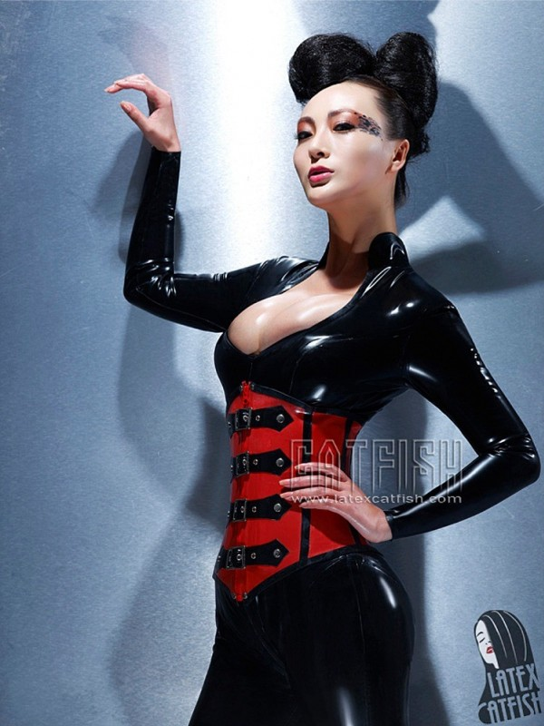 Latexový Catsuit CF-CANV268